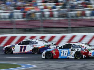 Hall of Famer Joe Gibbs sees his team deliver a mixed bag in NASCAR's longest race