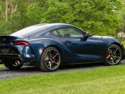 The 2020 Toyota Supra makes 62 more lb-ft of torque than advertised