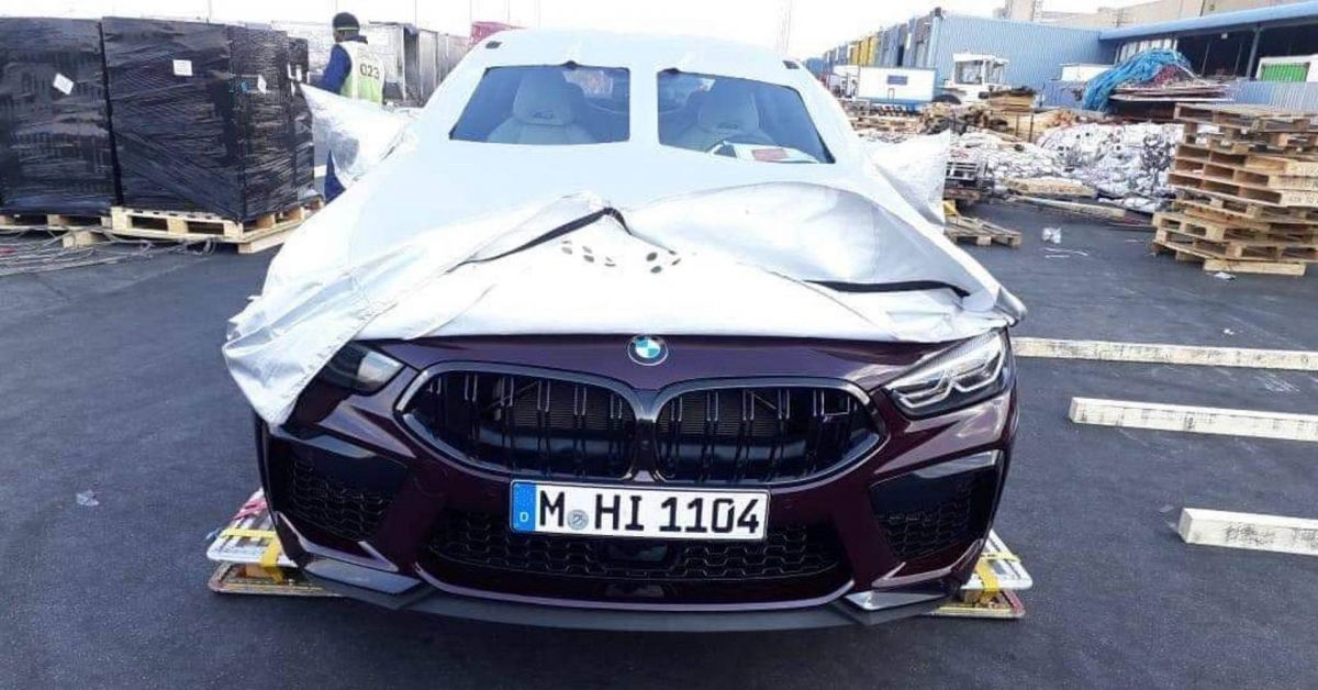 F92 BMW M8 Competition caught out in the open again