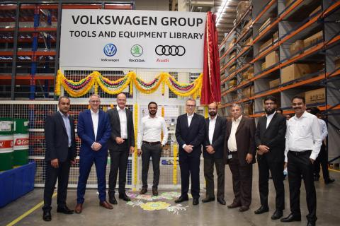 VW opens 'Tools Library' in Pune