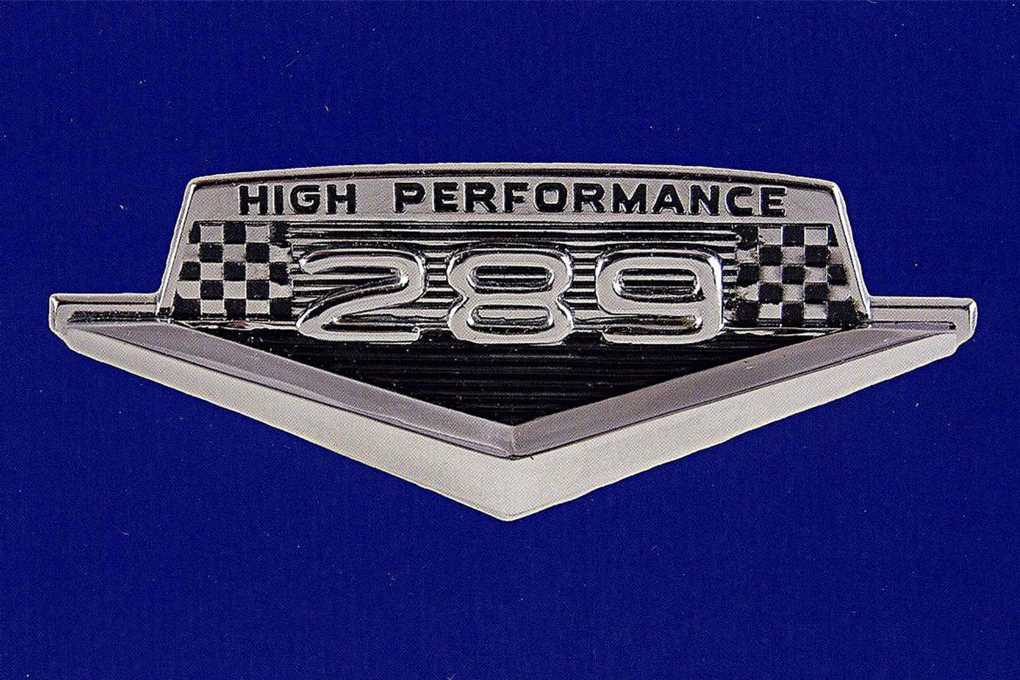 The 289 High Performance Mustang Book is Back!