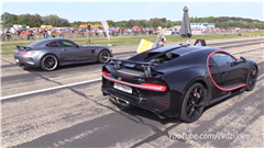Listen to This 760 HP Mercedes-AMG GTR Take on Supercar Royalty in a 1,000-Meter Drag Race