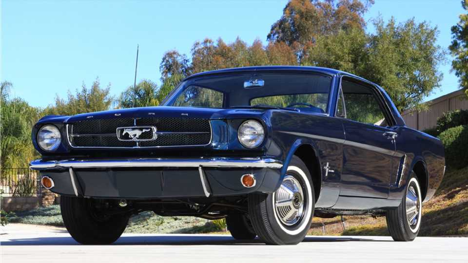 Very First Pre-Production Ford Mustang Coupe Headed to Auction With No Reserve
