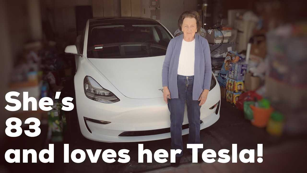 83 Year Old Grandma Says Bye Bye To Buick, Hello To Tesla Model 3