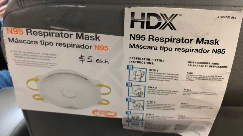 California Uber Drivers Selling Respirator Masks for Huge Profit Amid Wildfire Smoke