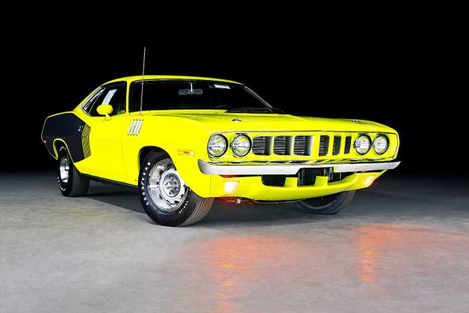 This Is the Closest You Can Get to a Brand-New 1971 Plymouth \u2019Cuda