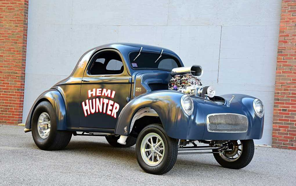 1941 Willys Gasser Rules the Streets of Massachusetts