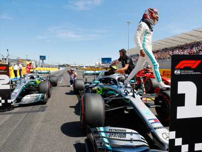 F1 French Grand Prix qualifying results: Lewis Hamilton, Valtteri Bottas make history