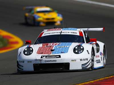 Porsche holds off Corvette in closing laps at the Glen for fourth straight IMSA GTLM win