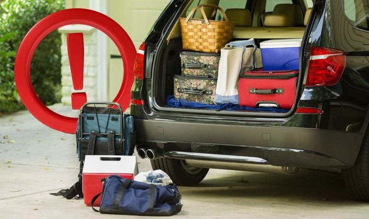 Car insurance ALERT: Overloading you car could invalidate you cover and land you £300 fine