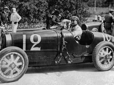 W Williams: Winner of the first Monaco Grand Prix faced racing and war fearlessly