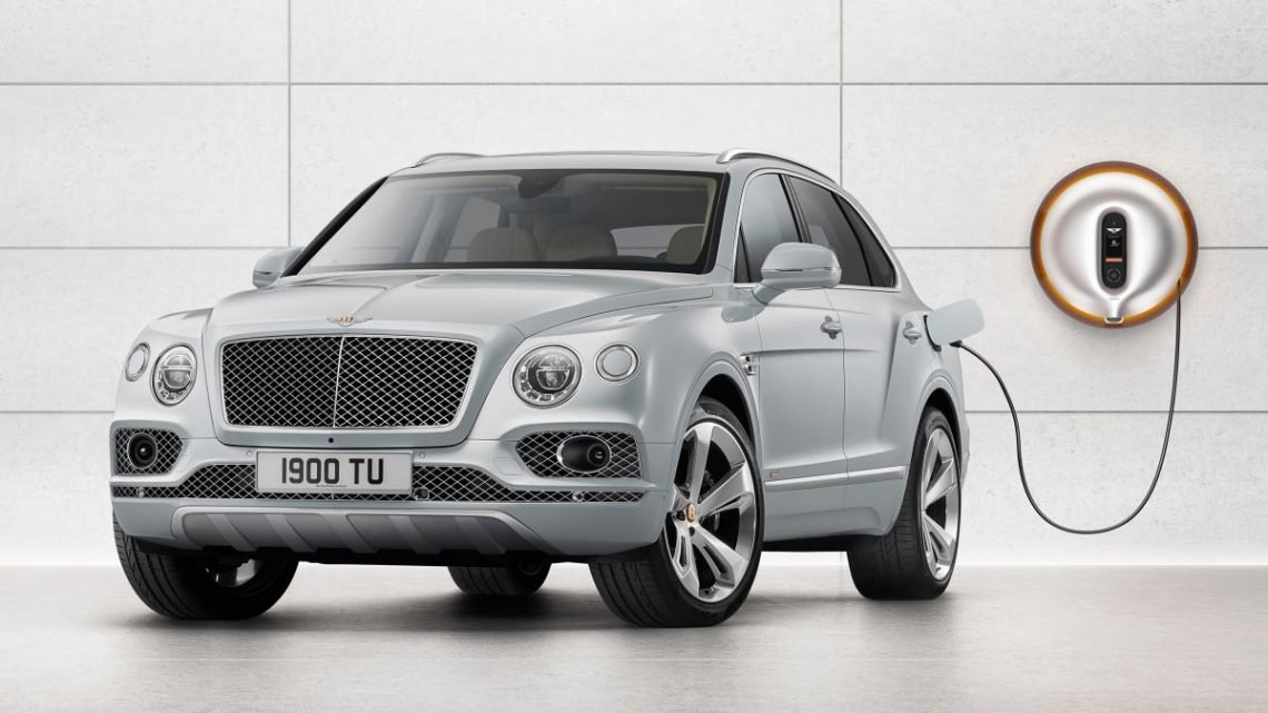 Bentley's full range of cars will be electrified by 2023