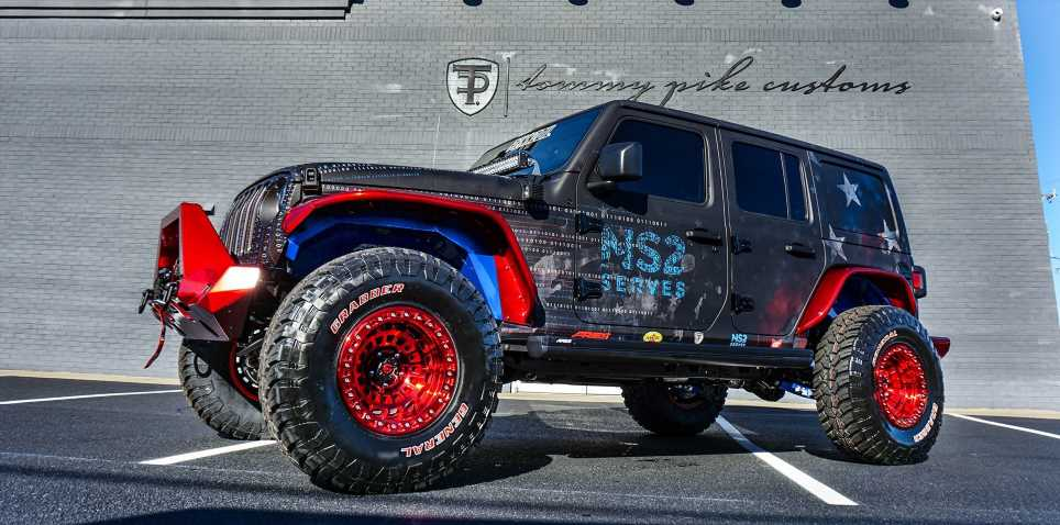 This Rowdy Jeep Wrangler Rubicon Is Being Auctioned to Benefit Vets
