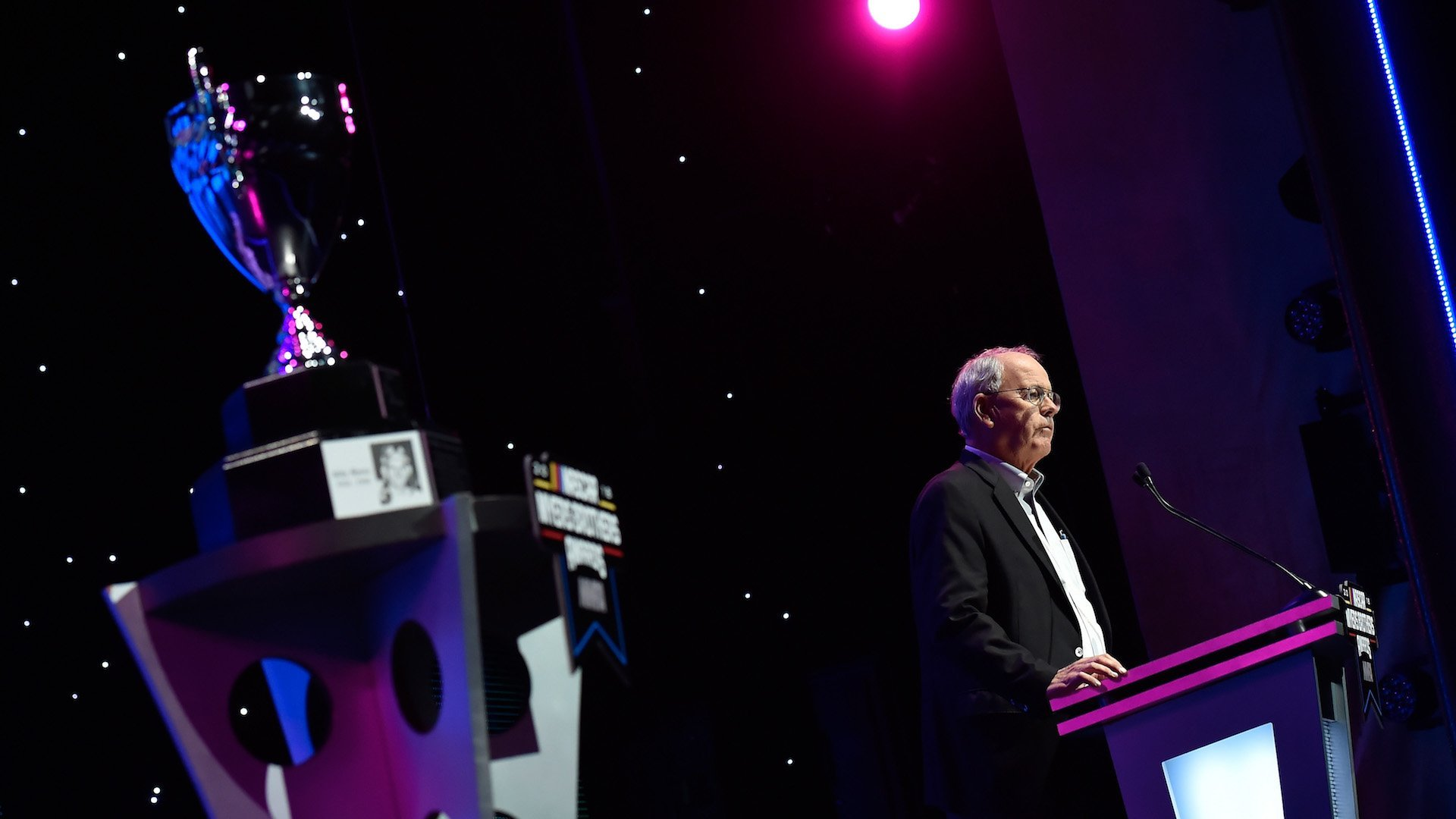 NASCAR Chairman and CEO Jim France Recognized for Lifelong Contributions to the Sport