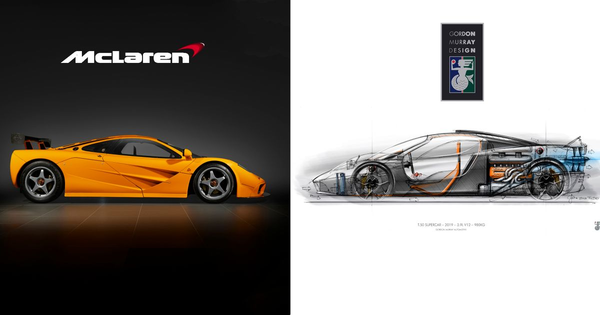 The Gordon Murray T.50 Makes The McLaren F1 Look Compromised
