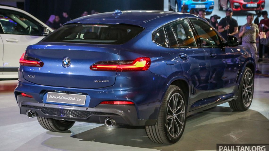 G02 BMW X4 CKD – officially priced at RM364,800