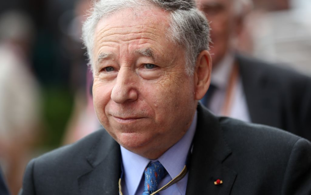 Jean Todt 'not worried' about 2021 delays