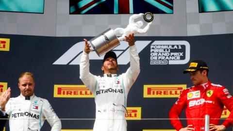 Lewis Hamilton wins the 2019 French GP