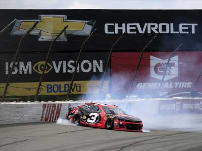 NASCAR's Austin Dillon 'disappointed' with former teammate at Pocono