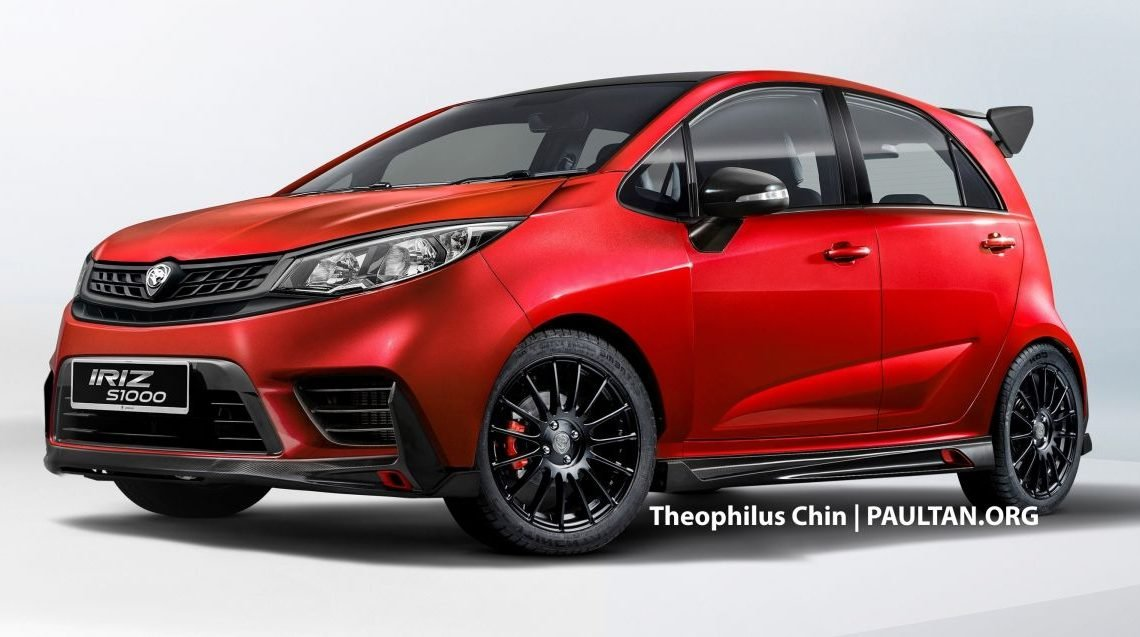 Proton Iriz S1000 Concept – a special edition to celebrate Sepang 1,000 km race victory imagined