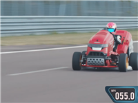 Watch Honda's Mean Mower hit 100 mph in 6.285 seconds