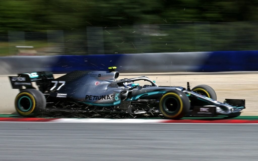 Bottas welcomes punishment of 25G crash