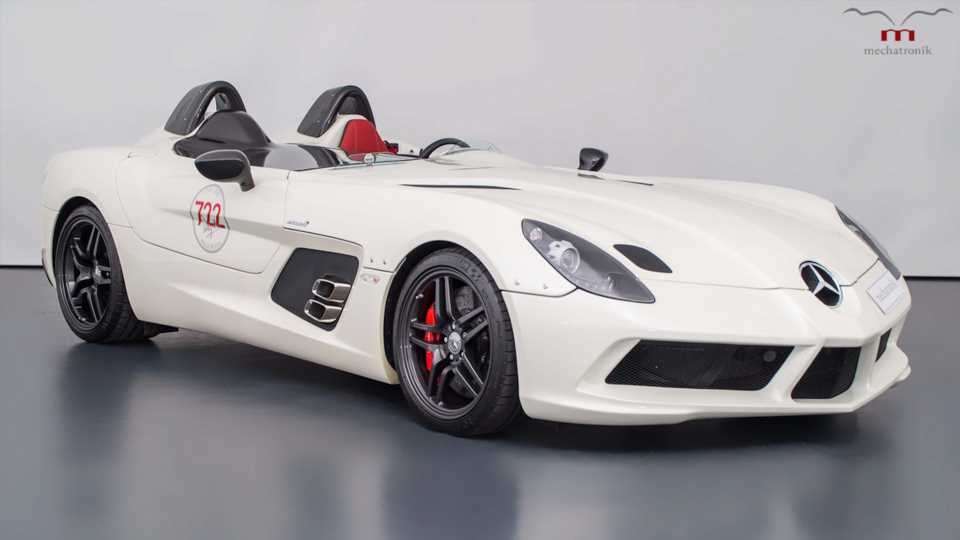 Ultra-Rare Mercedes-Benz SLR McLaren Stirling Moss Listed for Sale With $3M Price Tag
