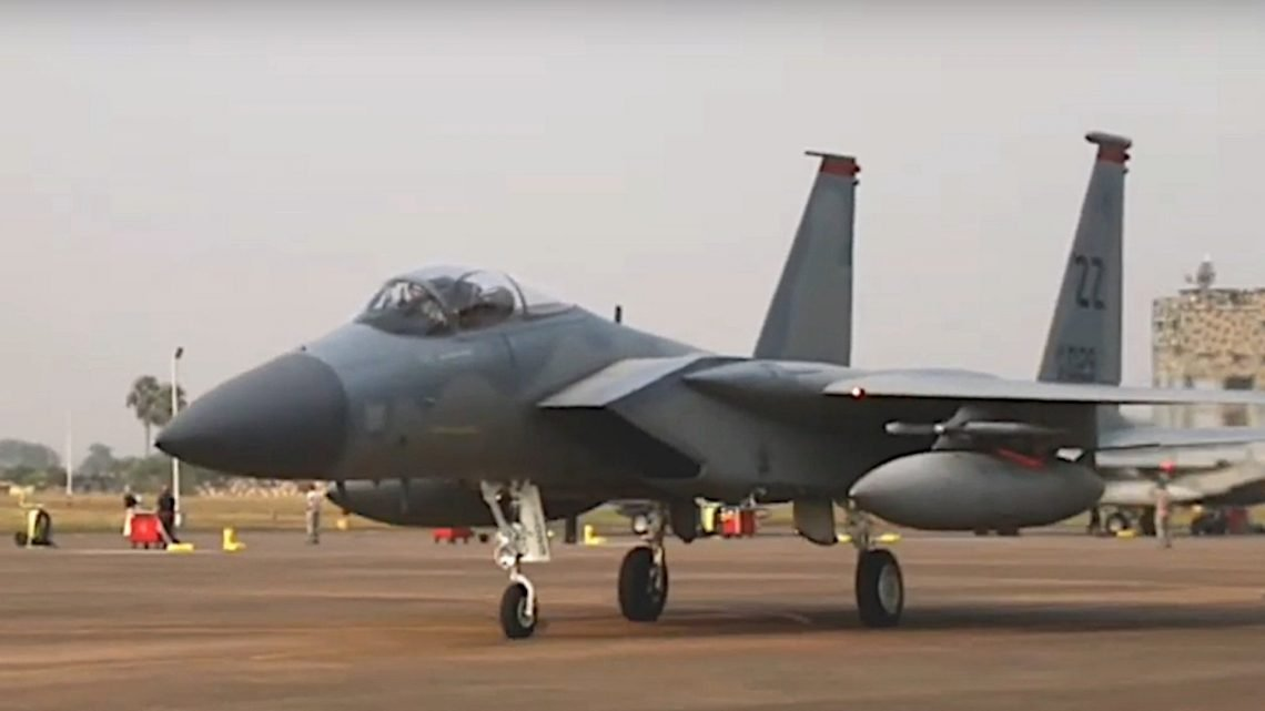 "F-15s Arrive For Rebooted ""Cope India"" Air Combat Drill As US-Indian Relations Tighten"
