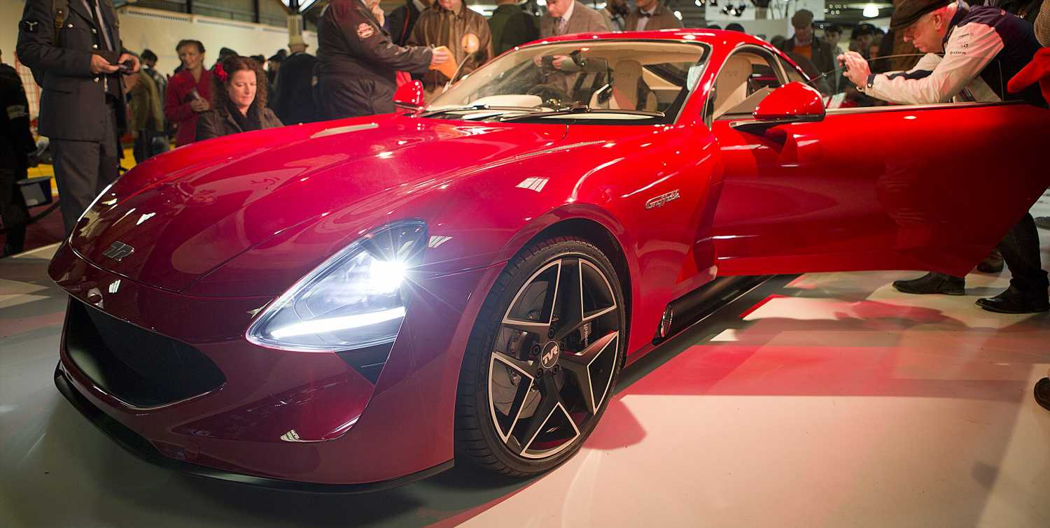 TVR's Factory Revamp Seems to Be Back on Track