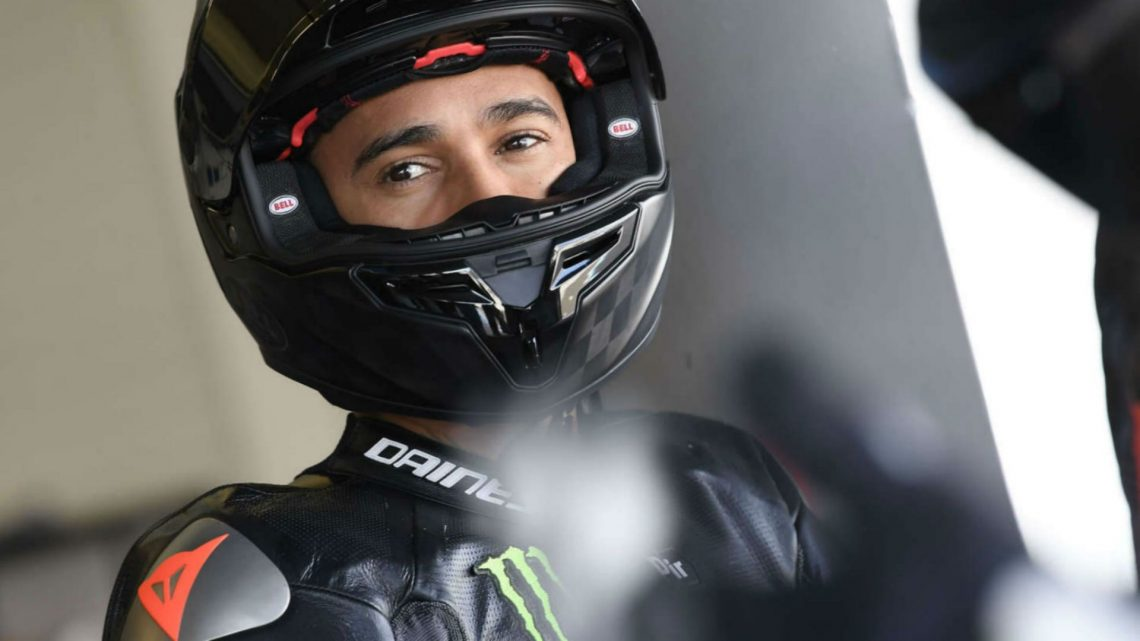 F1 Champ Lewis Hamilton Impresses in One-Off Superbike Ride at Jerez