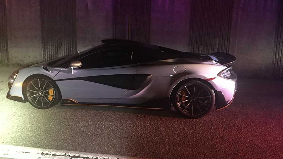 McLaren 600LT Impounded By Police After 10 Minutes Of Ownership