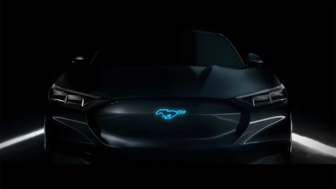 Ford's Mustang-Inspired Electric Crossover May Be Called 'Mach E'