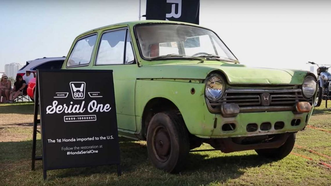 First Honda In The U.S. Restored To Its Former Glory