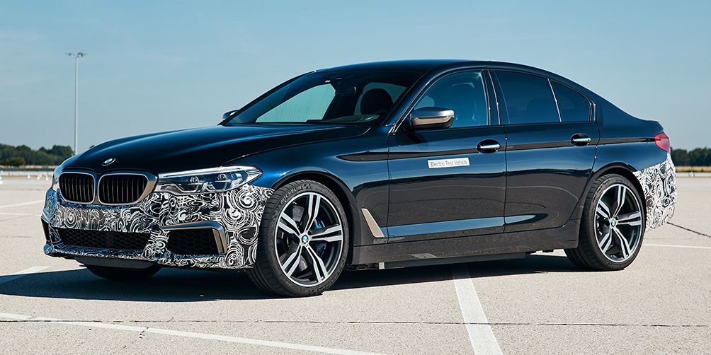 BMW's New 5-Series Electric Test Bed Has More Power Than an M5