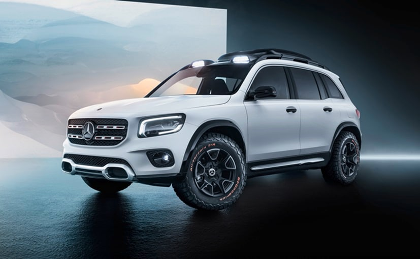Mercedes-Benz GLB All Set To Make Its World Debut