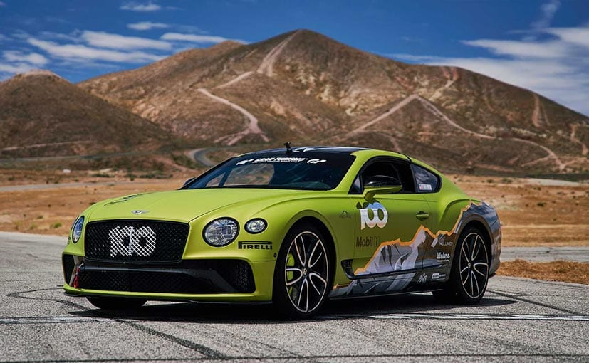 Bentley Plans To Set Pikes Peak Hill Climb Record With This Continental GT