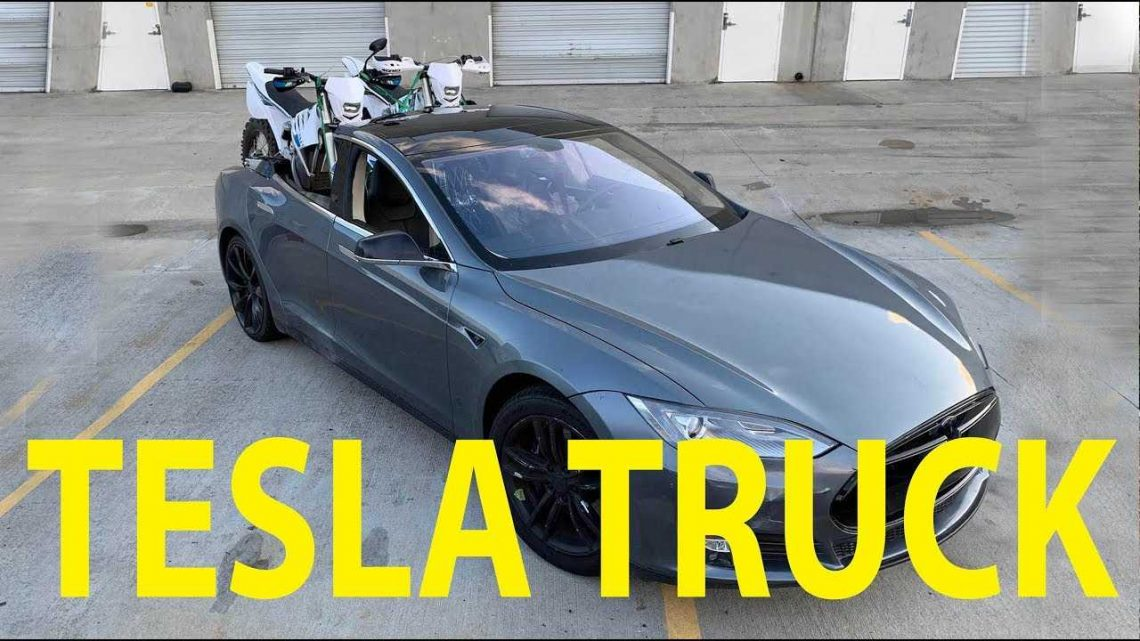 Impatiently Waiting  For A Tesla Truck? Make Your Own Teslamino