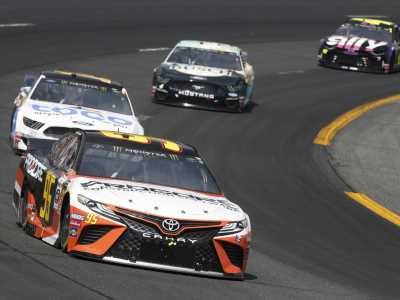 Matt DiBenedetto 'flexes his muscles' with another NASCAR Cup top-5