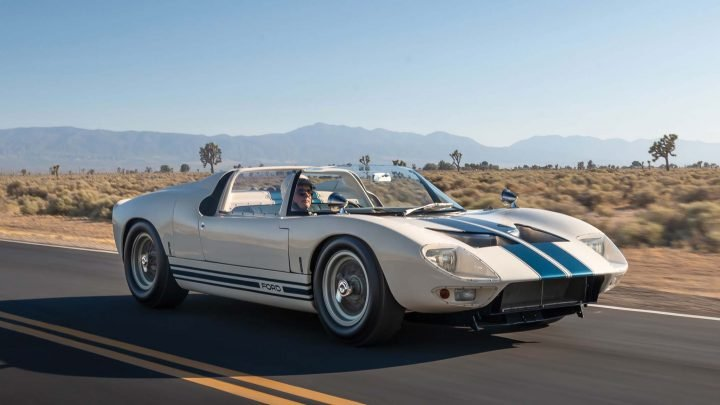 Just Five Ford GT40 Roadsters Were Ever Made