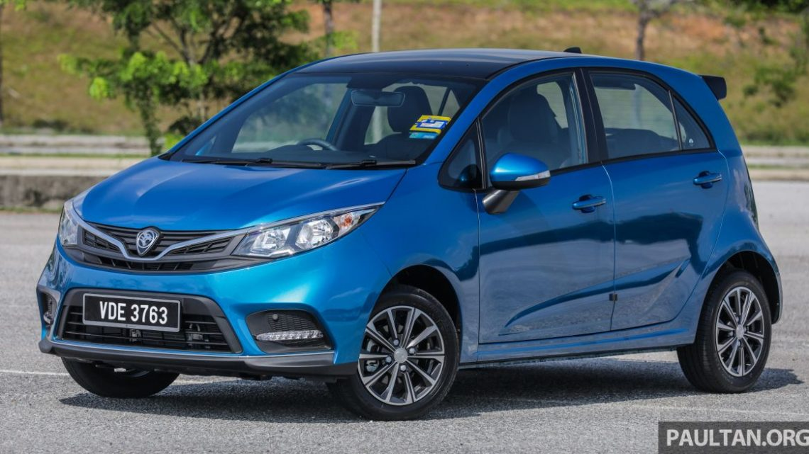 Proton sales breakdown for the first 6 months of 2019