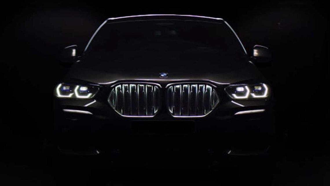 2020 BMW X6 Teased Ahead Of Imminent Debut