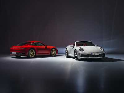Meet the next Porsche 911 Carrera and Carrera Convertible