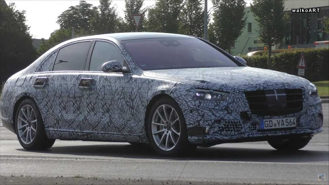 2021 Mercedes S-Class Sedan Spied Looking Stately On The Street