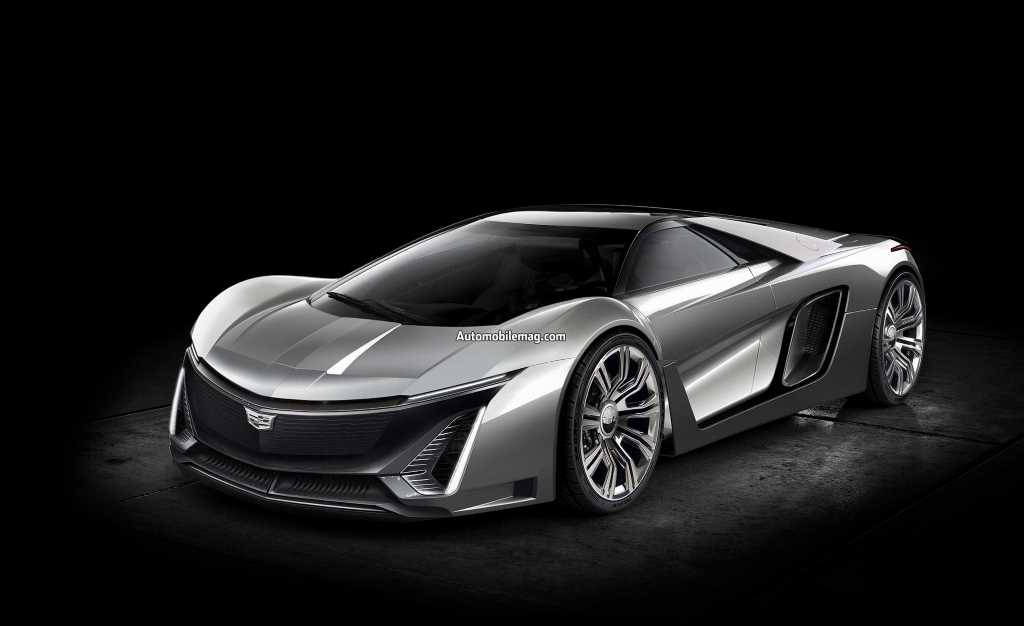 What if Cadillac Built a Halo Supercar Based on the 2020 Corvette C8?