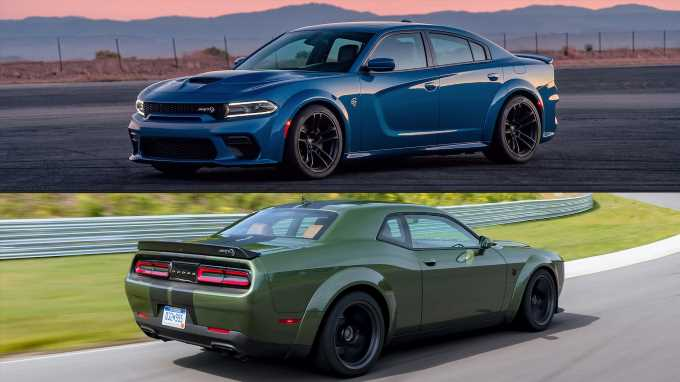 Refreshing or Revolting: Dodge Charger Widebody vs. Challenger Widebody