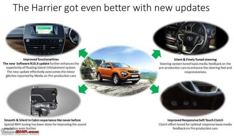 Rumour: Tata Harrier to get NVH and other improvements
