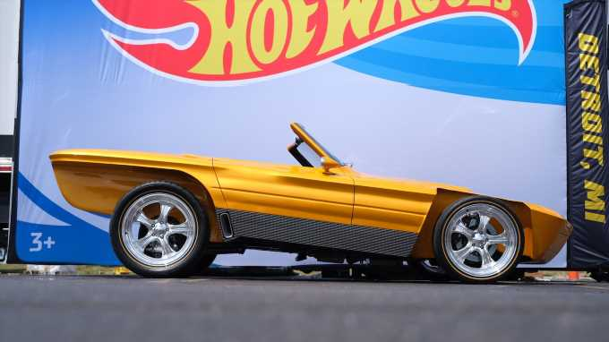 Hot Wheels Legends Tour: This Rad Roadster Dropped Jaws in Detroit