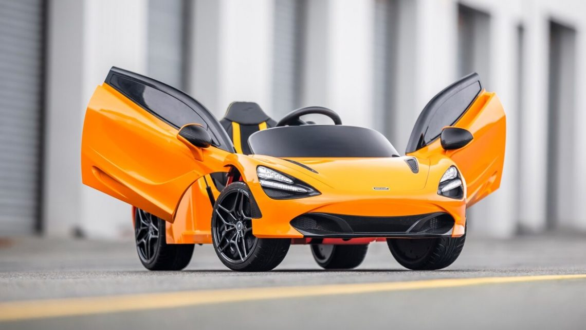 McLaren's Latest Model Has Bluetooth and a Video System
