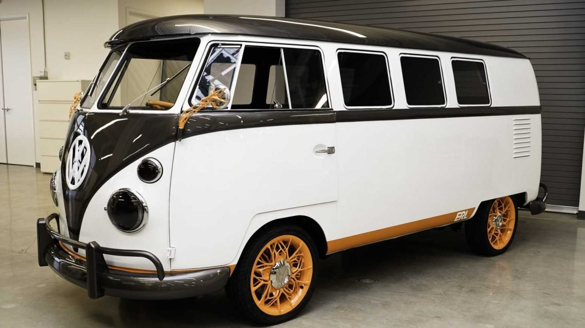 VW Renames its Silicon Valley Tech Hub, Builds Cool Electric Type 2 to Celebrate