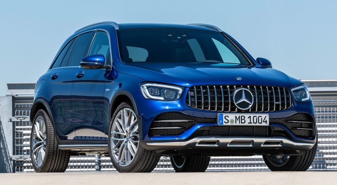 Mercedes-AMG GLC43, GLC43 Coupe facelifts debut – 3.0L twin-turbo V6 with 385 hp; 0-100 km/h in 4.9s